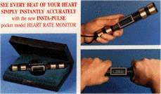 InstaPulse Heart Rate Monitor - Baton Model